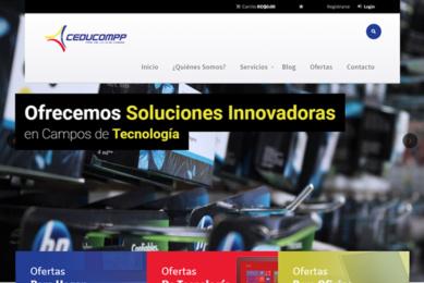 Portada desarrollo de página web Ceducompp