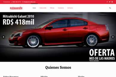 Gmedia Dominicana, Marketing digital. Autocorolla