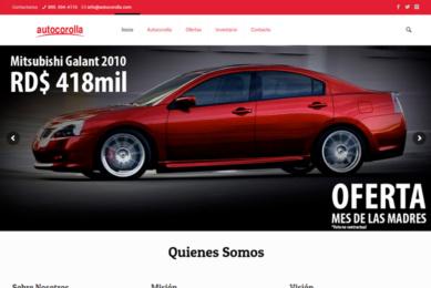 Gmedia Dominicana, Marketing digital. Autocorolla