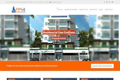 Gmedia Dominicana, Marketing digital. FR4 Constructora